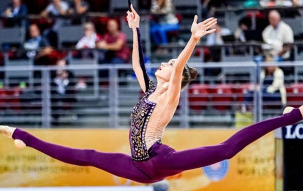 Юная украинская гимнастка выиграла медаль чемпионата мира