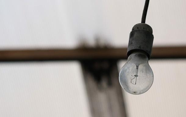 В Киеве произошло массовое отключение электроэнергии