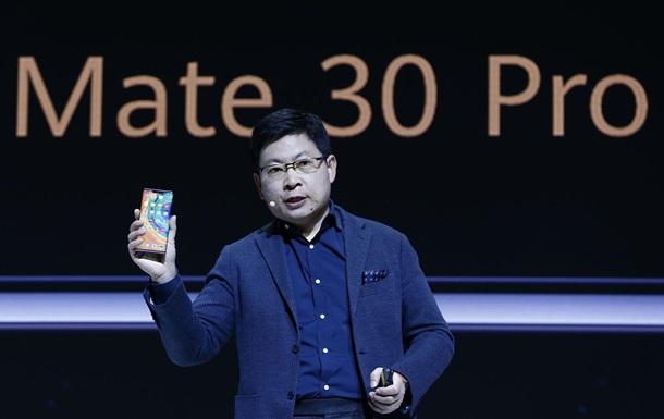 Состоялась презентация смартфонов Huawei Mate 30 и Mate 30 Pro