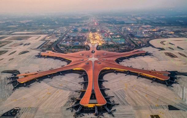 У Китаї відкрили новий  мега-аеропорт