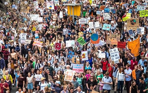 По всьому світу триває глобальний кліматичний страйк