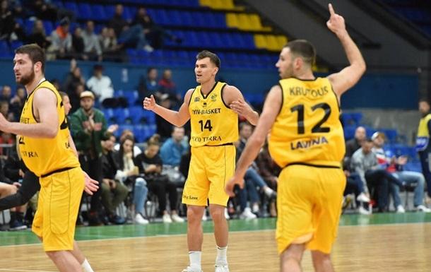 Киев-Баскет вышел в финал квалификации Лиги Чемпионов, обыграв Капфенберг