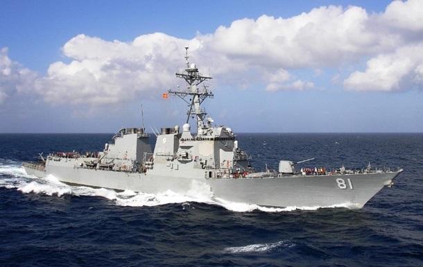 США відправили есмінець в Перську затоку
