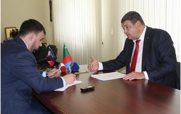 "Кандидат на место главы ""ДНР"""