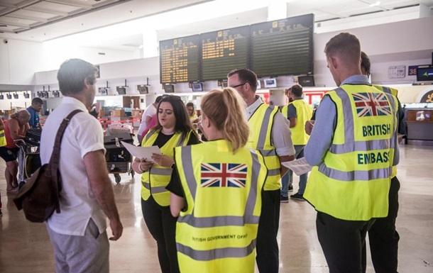 Британія повертає додому 155 тисяч туристів через банкрутство Thomas Cook
