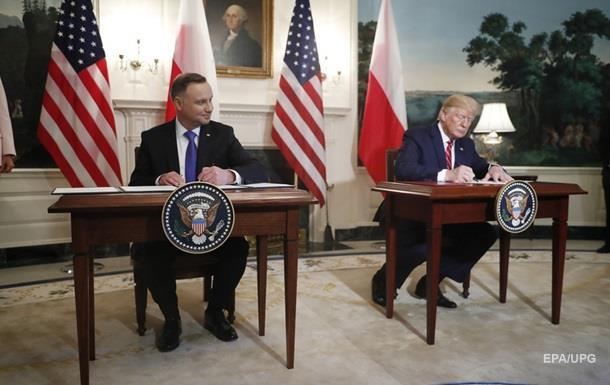 США посилюють військову присутність в Польщі