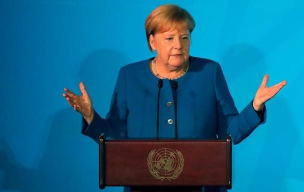 Меркель: За захист клімату відповідають розвинені країни