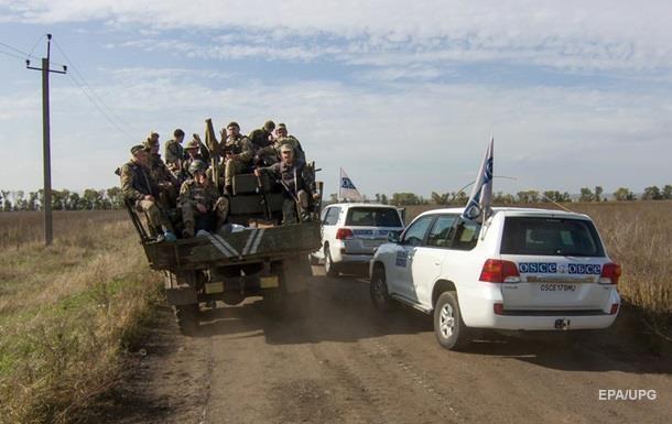 ОБСЕ насчитала в  ЛДНР  более 40 единиц неотведенного вооружения