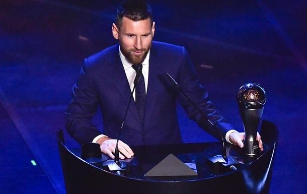 FIFA визнала Ліонеля Мессі гравцем року
