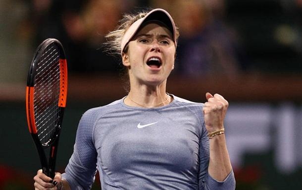 Свитолина вышла в третий круг турнира в Ухане, обыграв Мугурусу