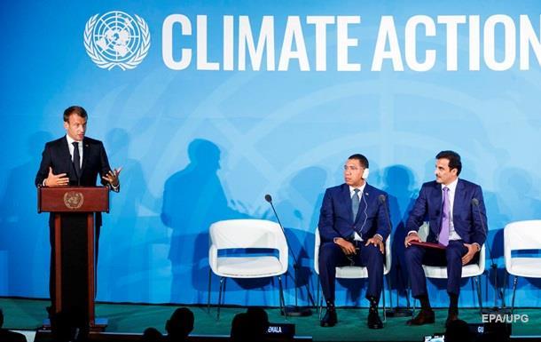Макрон розкритикував школярку, яка виступила на саміті ООН
