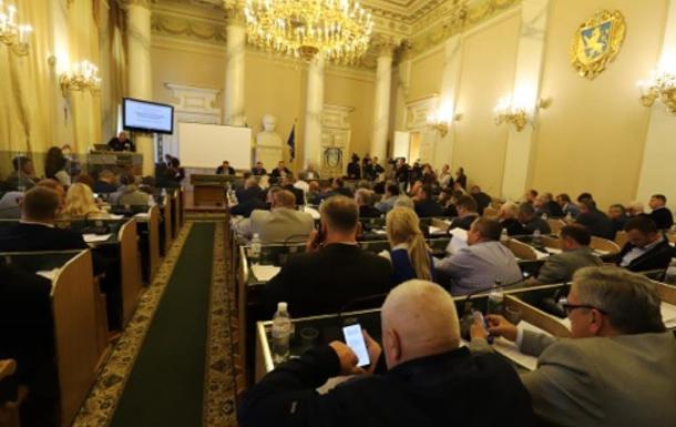 Львовский облсовет требует расследовать разгон блокады вагонов с углем