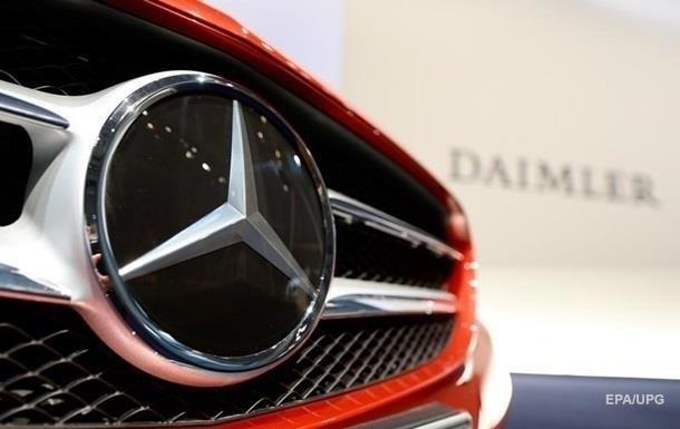 В Германии оштрафовали Daimler на 870 млн евро