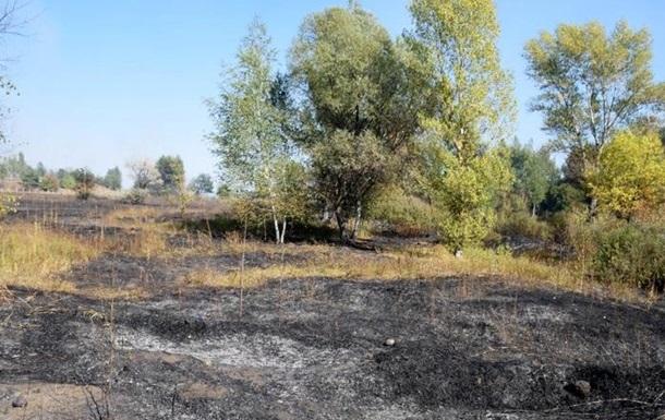 На Харьковщине две недели тушили пожар на полигоне