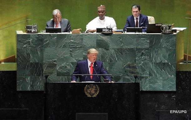Трамп: Майбутнє належить патріотам