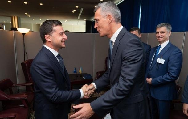 Зеленский встретился с генсеком НАТО в Нью-Йорке