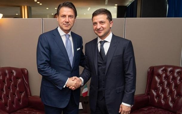Зеленский обсудил дело Маркива с премьером Италии
