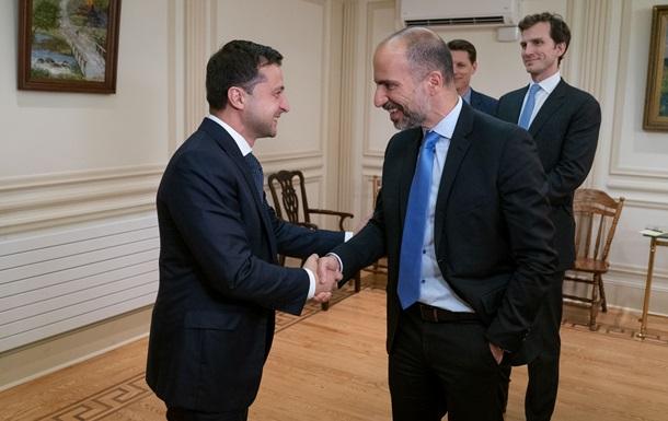 Зеленський зустрівся з виконавчим директором Uber