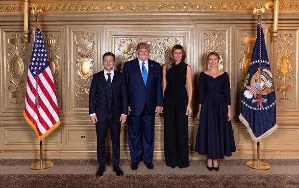 Появилось фото Зеленского с Трампом