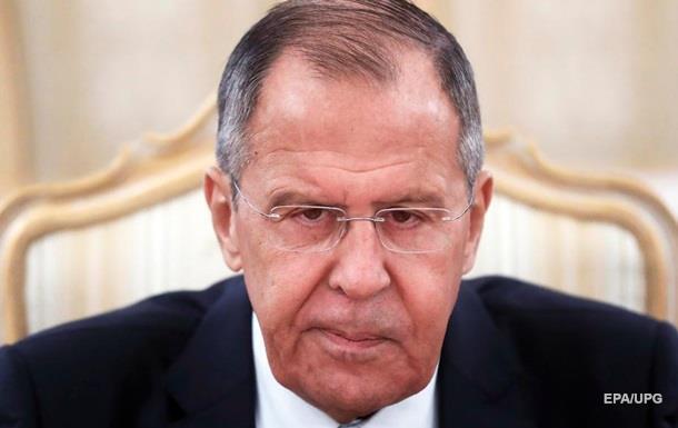 Лавров назвав тему бесіди із Зеленським