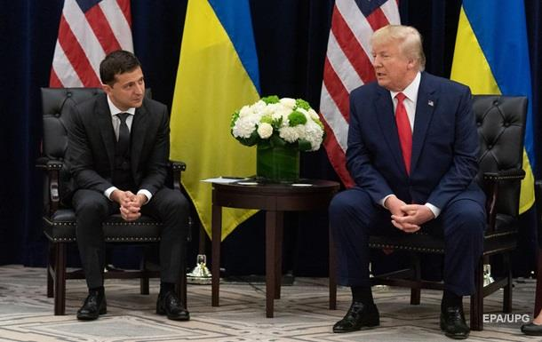 Зеленский и Трамп обменялись шутками на встрече
