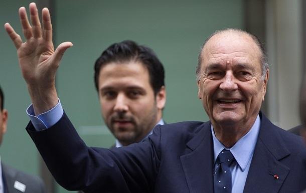 Помер екс-президент Франції Жак Ширак