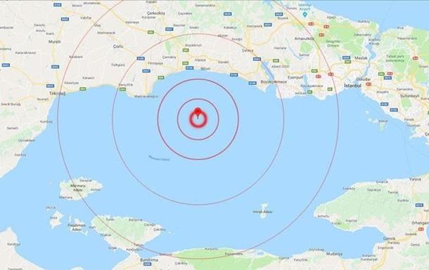 У Стамбулі стався сильний землетрус