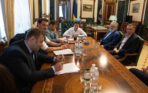 ЗМІ почали вимагати в ОП стенограму зустрічі з Коломойським. Їм відмовили