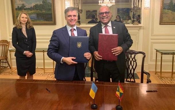 Україна встановила дипломатичні відносини з Гренадою
