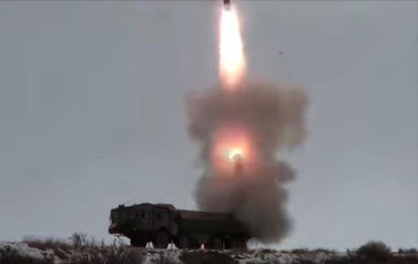 В РФ показали пуск крылатой ракеты вблизи Аляски