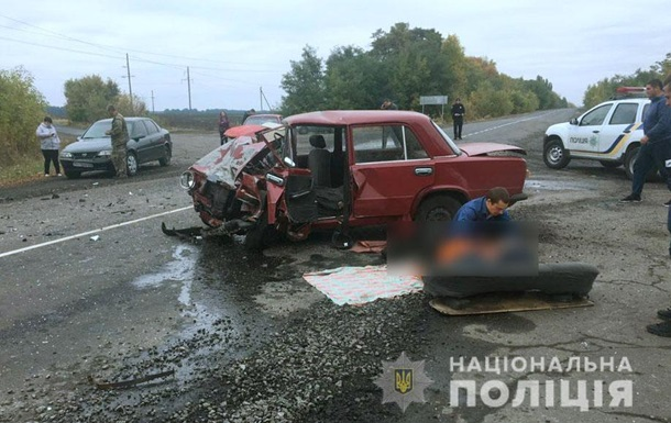 У Полтавській області зіткнулися чотири авто, є жертви