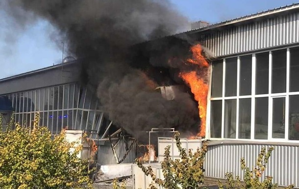 На заводі в Сумах стався вибух