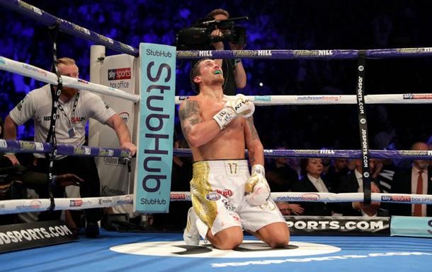 Усик - лучший иностранный боксер года в Великобритании