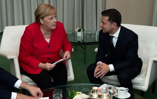 Зеленський цінує внесок Меркель у врегулювання на Донбасі - посол