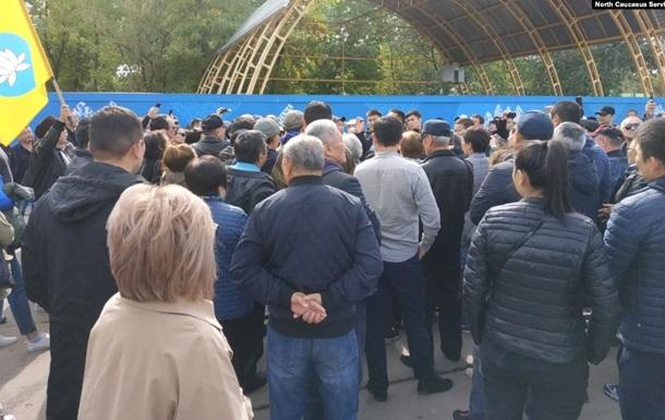 В России протестовали против назначения и.о. мэра деятеля 'ДНР'