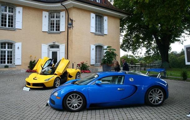 Швейцария продает 25 машин наследника африканского диктатора