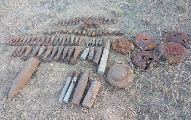 В Херсоне уничтожили боеприпасы времен Второй мировой