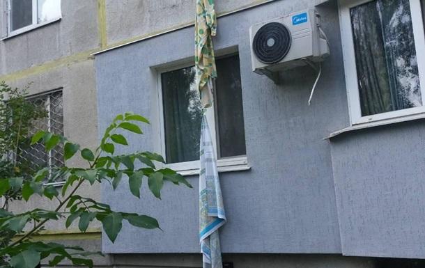 У Харкові загинула пенсіонерка, спускаючись з другого поверху по постілі