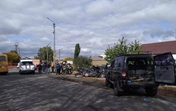 В Киевской области столкнулись авто: двое погибших