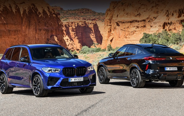 BMW has unveiled the X5 and X6