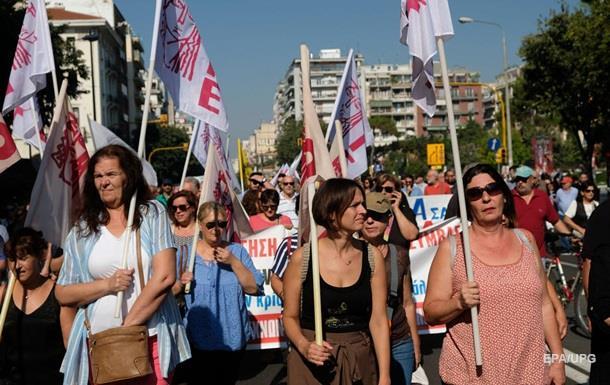 У Греції масштабний страйк зупинив транспорт