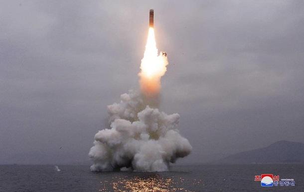 В КНДР подтвердили тестовый запуск баллистической ракеты