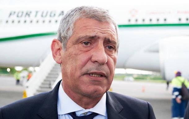 Сантуш: Цель Португалии - обыграть Люксембург и Украину