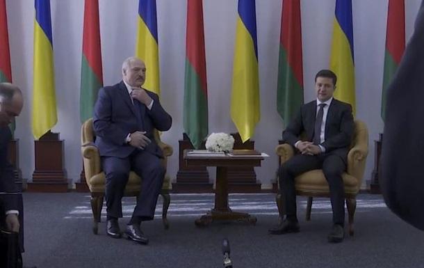 Почалася зустріч Зеленського з Лукашенком