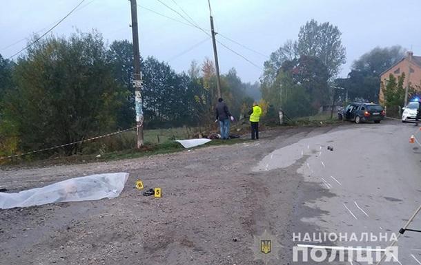У Тернопільській області п яний водій збив на смерть двох чоловіків