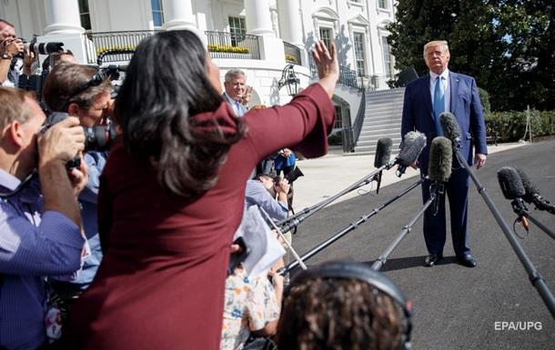 Трамп зажадав голосування по процедурі імпічменту