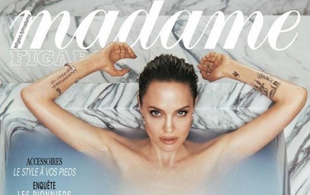 Анджеліна Джолі оголилася й розповіла про розлучення