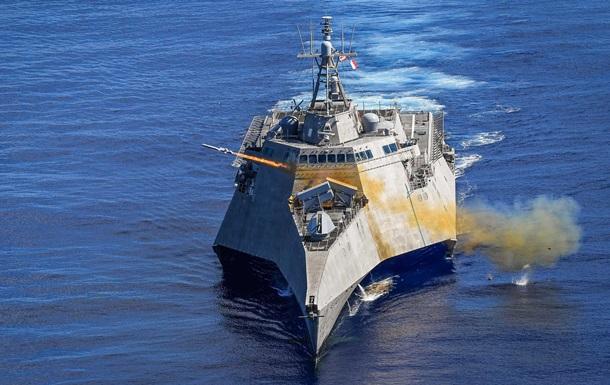 США испытали новую ракету в Тихом океане