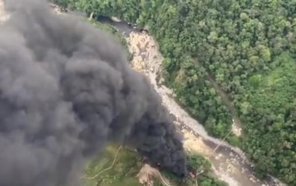У Колумбії підірвали нафтопровід
