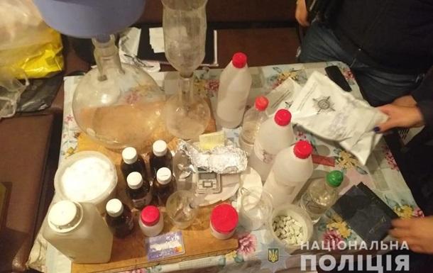 Нарколабораторія під Києвом виготовляла амфетамін
